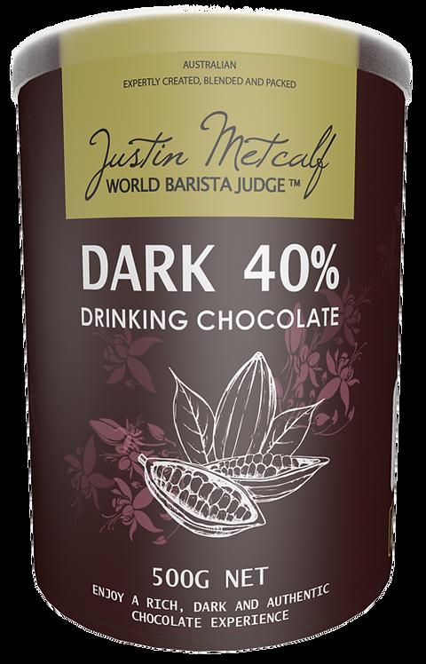 DARK DRINKING CHOCOLATE - 500g CAN