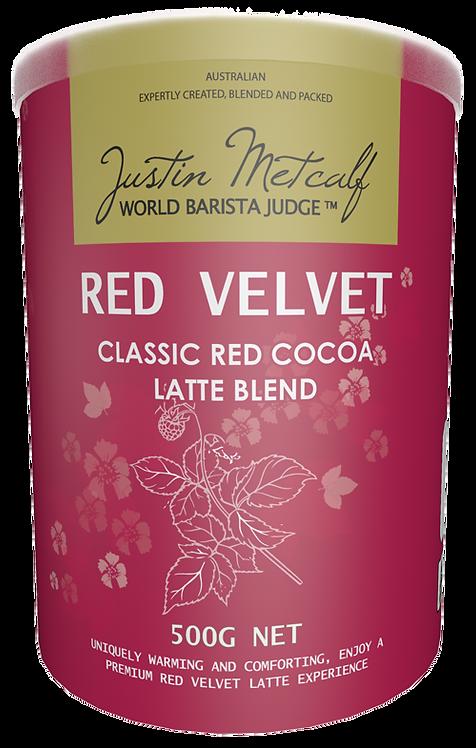 RED VELVET LATTE - 500g CAN