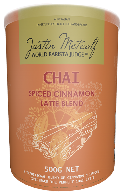 SPICED CINNAMON CHAI - 500g CAN
