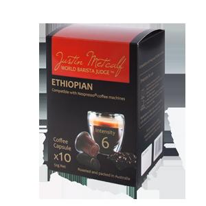 ETHIOPIAN 5.2g CAPSULES  (Nespresso Compatible)