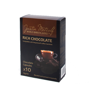 RICH CHOCOLATE 8.5g CAPSULES  (Nespresso Compatible)