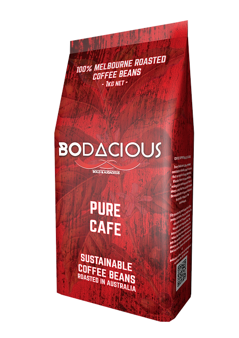 PURE CAFE COFFEE BEANS - 1kg
