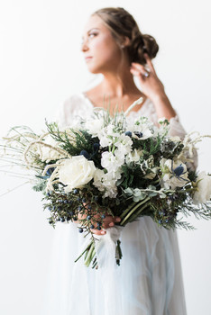 Delphynium, blue flower, Austin Texas. Wedding bouquet, Florist, bride