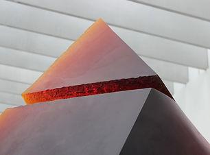 Sculpture pyramide