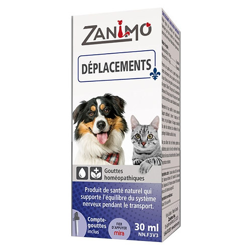 Deplacements Zanimo chien chat Animal Expert St-Bruno