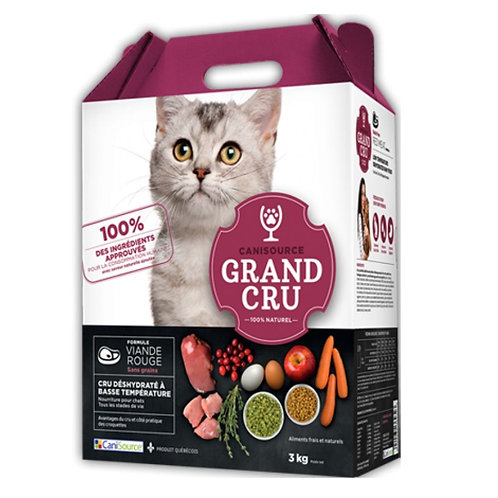 Croquettes viande rouge Grand Cru pour chat Animal Expert St-Bruno