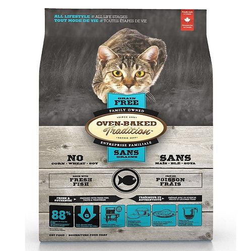 Poisson Sans Grains Oven-Baked Tradition Chat Animal Expert St-Bruno