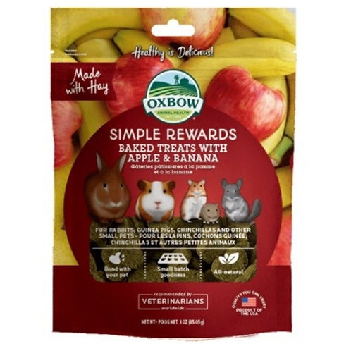 Gateries pomme banane Oxbow pour rongeurs Animal Expert St-Bruno