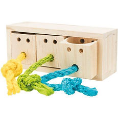 Cube snack Trixie pour lapin ou oiseau