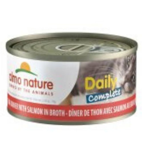 Thon et saumon Almo Daily Complete Diner pour chat Animal Expert St-Bruno