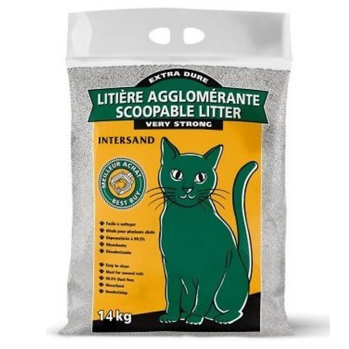 Litiere agglomerante Interstand pour chat Animal Expert St-Bruno