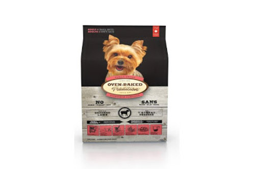 Agneau Petites Bouchées Oven-Baked Tradition Chien Animal Expert St-Bruno