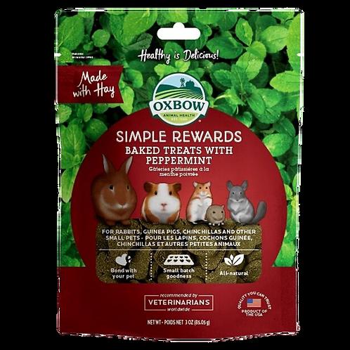 Gateries a la menthe poivree Simple Rewards Oxbow pour rongeurs Animal Expert St-Bruno