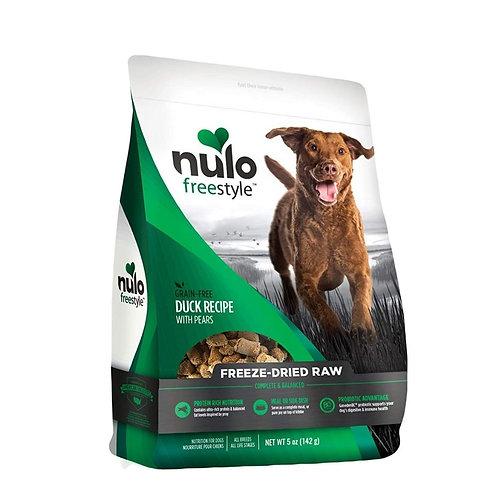 Aliment pour chien Nulo saveur canard