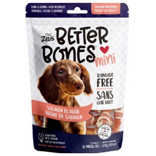 Better Bones Zeus Arôme de Saumon Enrobés de Poulet