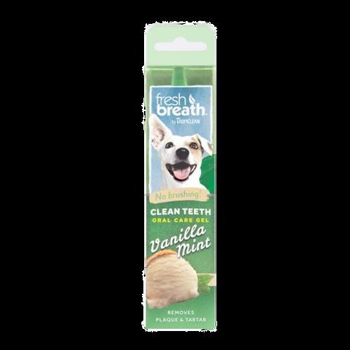 Gel de soin-bucco-dentaire-vanille-menthe-Tropiclean-chien-Animal-Expert-St-Bruno