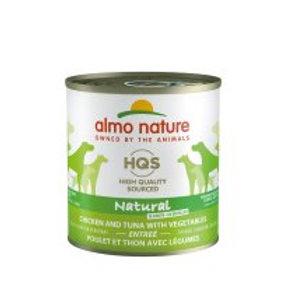Entrée Poulet et Thon avec Légume Almo HQS Natural