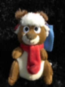Peluche de Noël marmotte Pow-er Plush