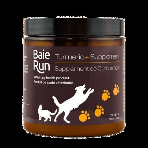 Poudre supplement de curcuma Baie Run pour chien et chat Animal Expert St-Bruno
