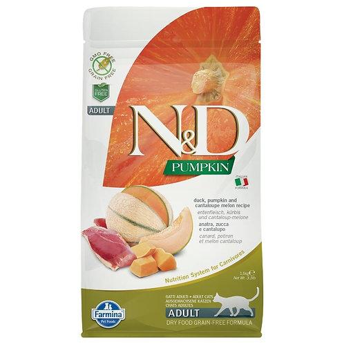 Farmina N&D Citrouille Sans Grain Chat Canard