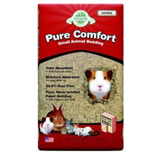 Litiere naturelle pure comfort rongeurs Oxbow