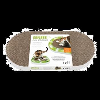 Griffoir oval Senses 2.0 Catit pour chat