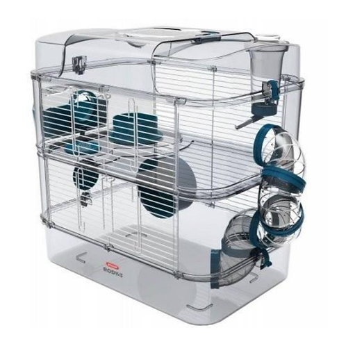 Duo cage de transport Rody 3 Zolux pour rongeurs Animal Expert St-Bruno