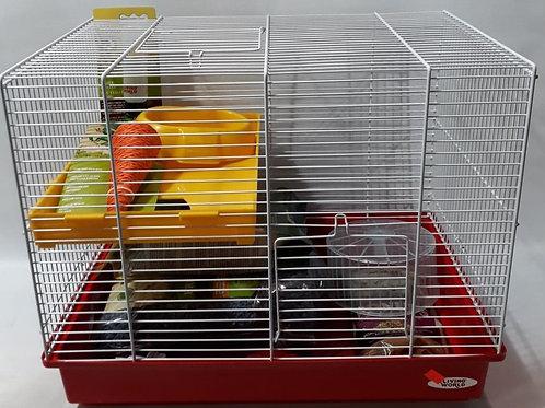 Cage équipée de luxe pour hamster Living World