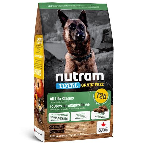 Nutram Total Chien Sans Grain Agneau et Lentilles