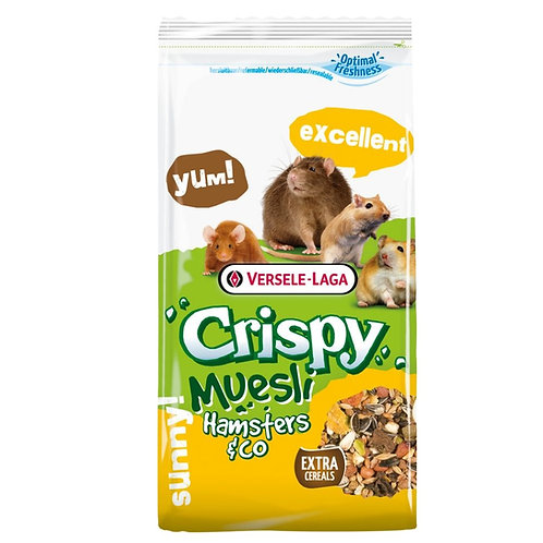 Crispy muesli Versele Laga pour hamsters Animal Expert St-Bruno