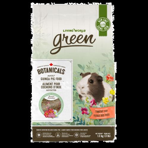 Aliment Botanicals pour cochon d'Inde adultes Living World Green