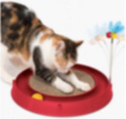 Grattoir rond pour chat