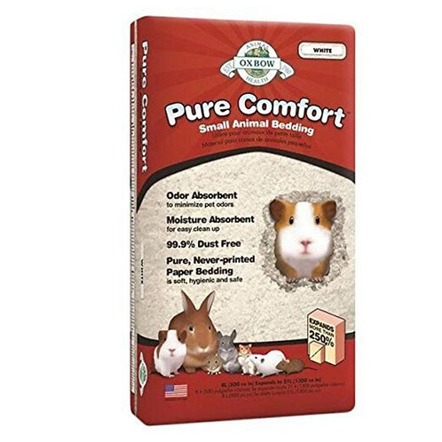 Litiere blanche pure comfort rongeurs Oxbow