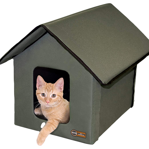 Maison chauffée pour chat Outdoor thermo Kitty House