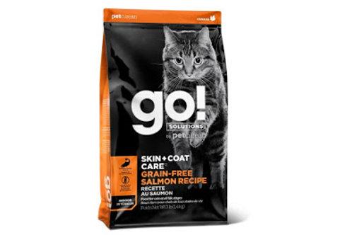 GO! Chat Peau + Poils Sans Grains Saumon