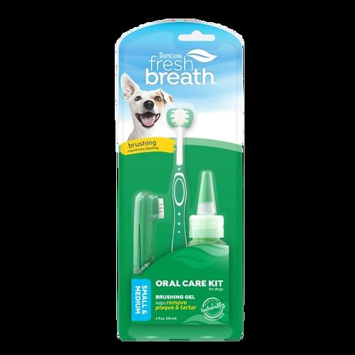Kit-soin-dentaire-Tropiclean-chien-Animal-Expert-St-Bruno
