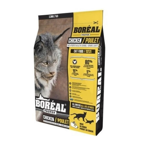 Grains-poulet-Boreal-chat-Animal-Expert-St-Bruno