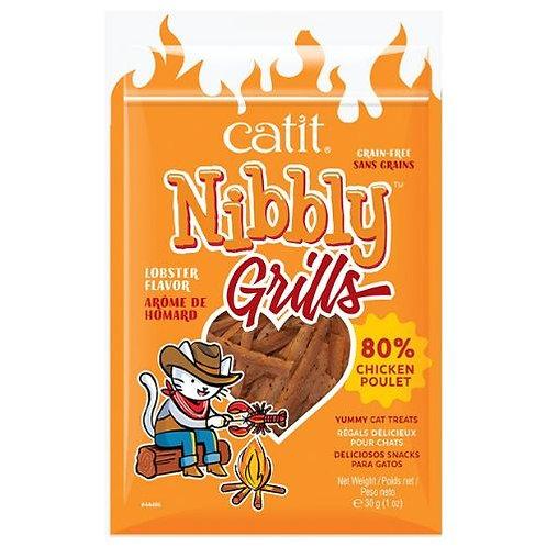Grillades Catit Nibbly Grills Poulet et Arôme de Homard
