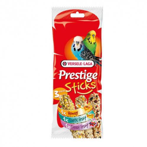 Prestige Sticks Perruches 3 Saveurs