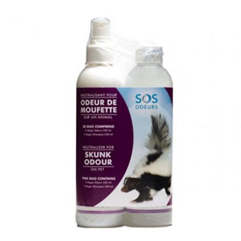 Kit SOS odeur spécial Mouffette