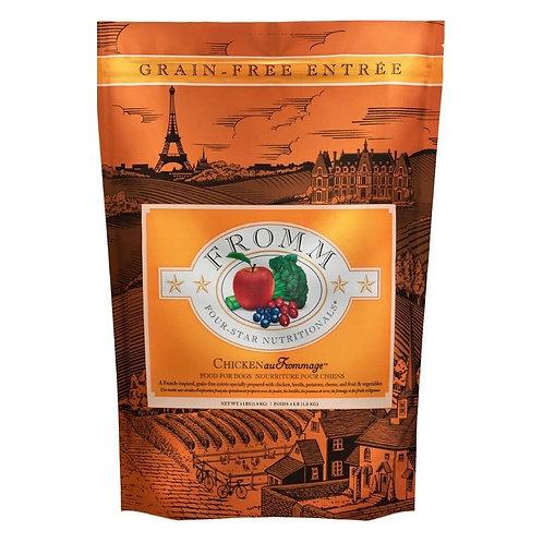 FROMM 4Star Chien Sans Grain Poulet au Fromage