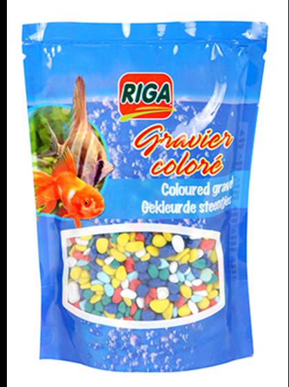 Riga Gravier Multicolore poissons Animal Expert St-Bruno
