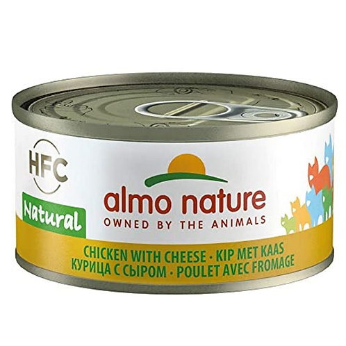 Poulet avec fromage Almo Nature HQS complete pour chat Animal Expert St-Bruno