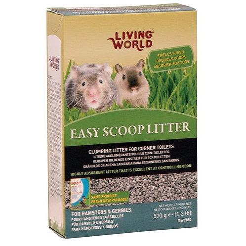 Litière Easy Scoop Living World
