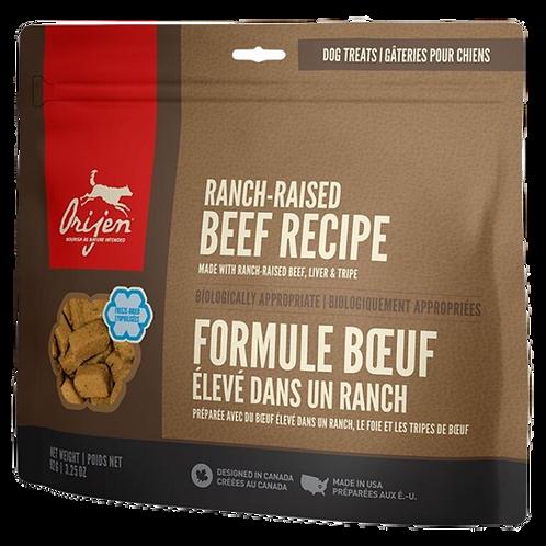 Boeuf eleve dans un ranch pour chien Orijen Animal Expert St-Bruno