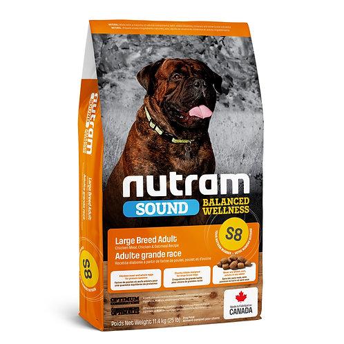 Nutram Sound Chien Grande Race Poulet et Avoine