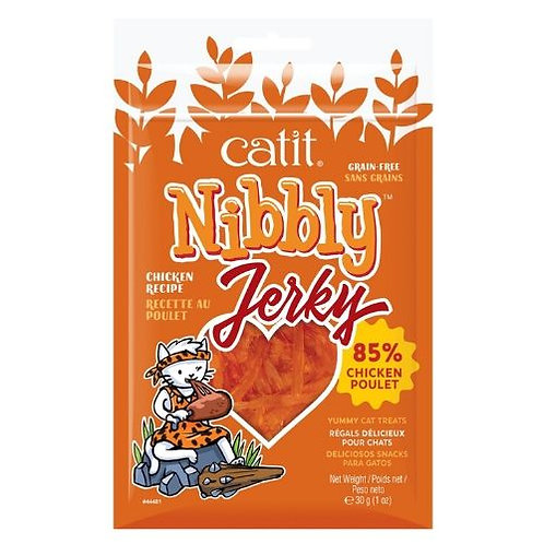 Charquis Tendres Catit Nibbly Jerky Poulet