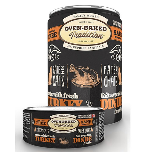 Pate de dinde Oven-Baked Tradition pour chat Animal Expert St-Bruno