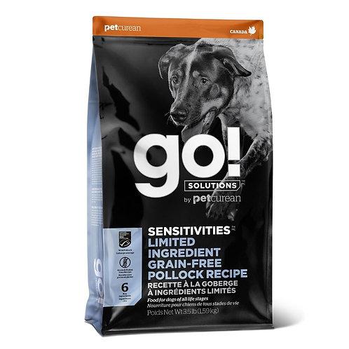 Sensitive Goberge Sans Grains GO Chien Animal Expert St-Bruno