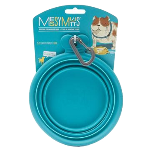 Bol pliable en silicone Messy Mutts pour chien Animal Expert St-Bruno